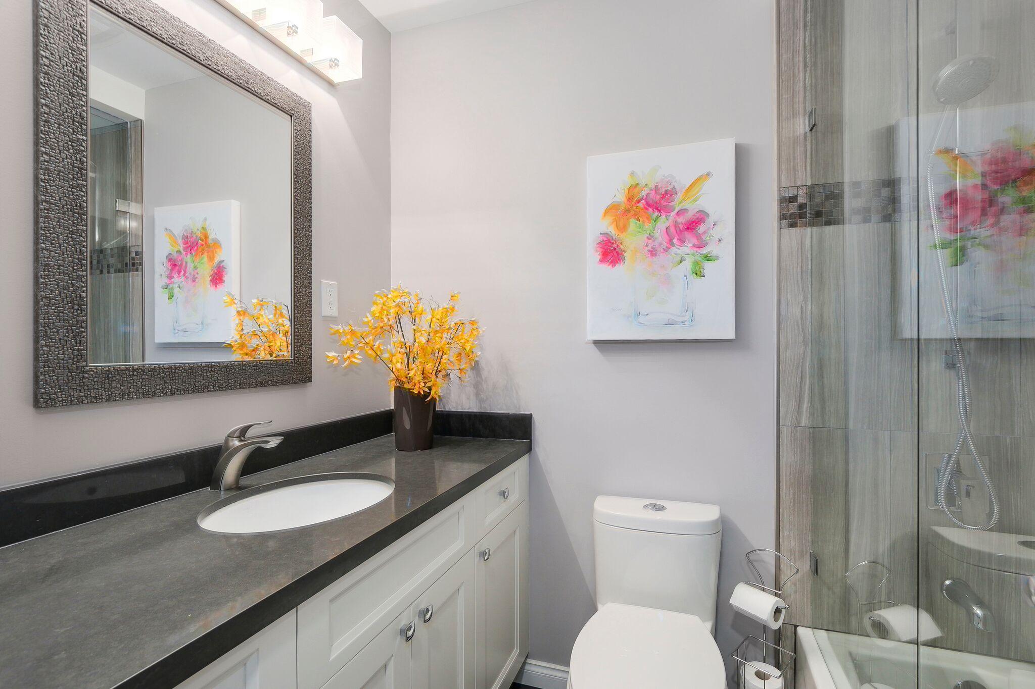 Luxury Guest Bathroom Renovation in Coquitlam