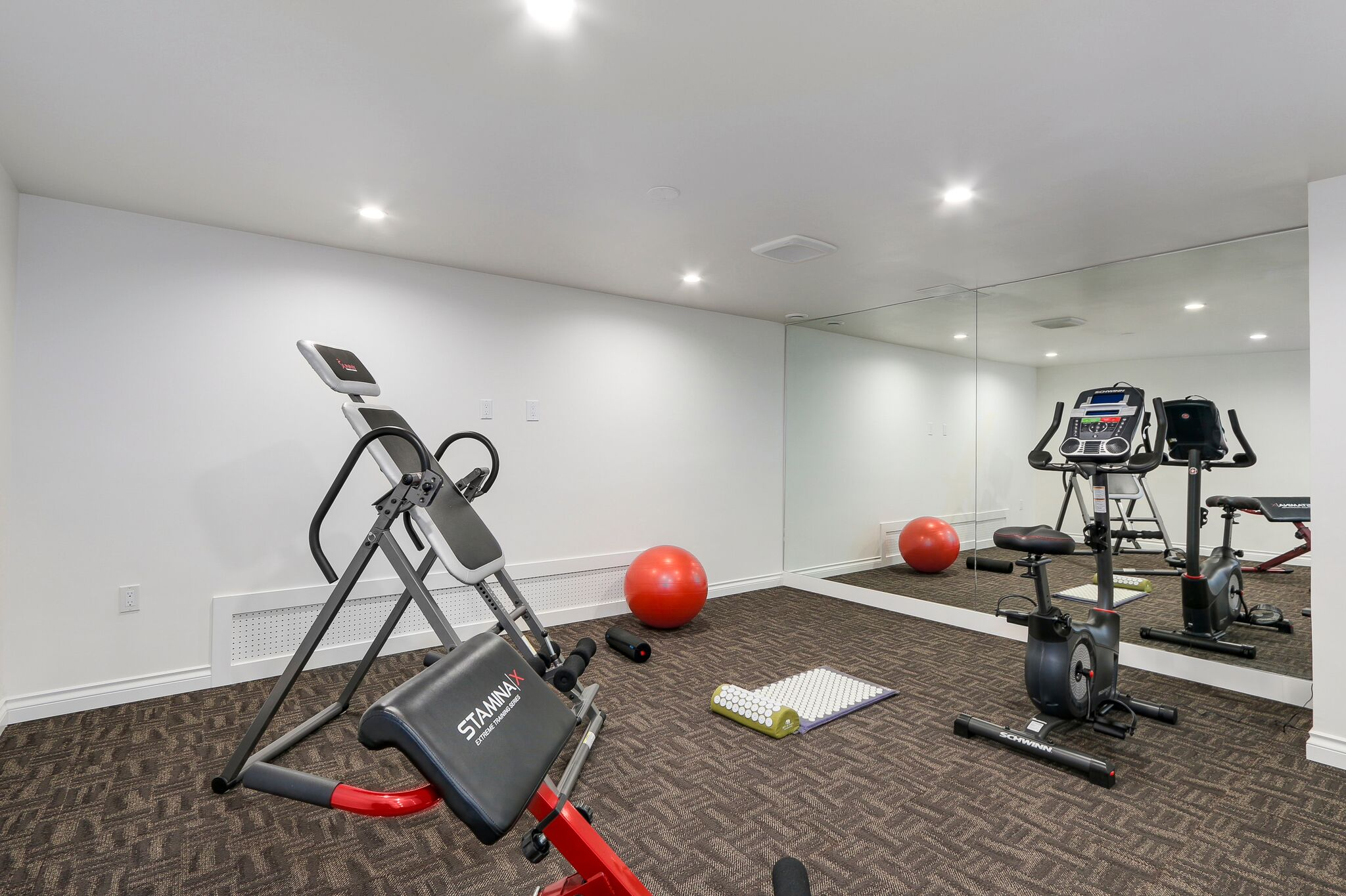 Luxury Home Gym Renovation in Coquitlam