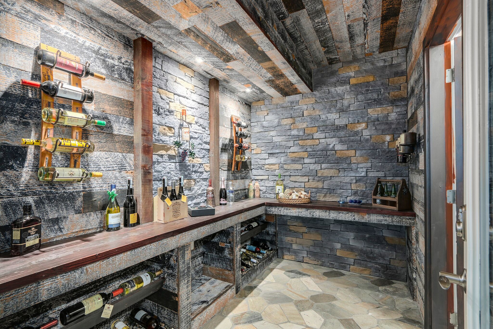 Luxury Wine Cellar Renovation in Coquitlam