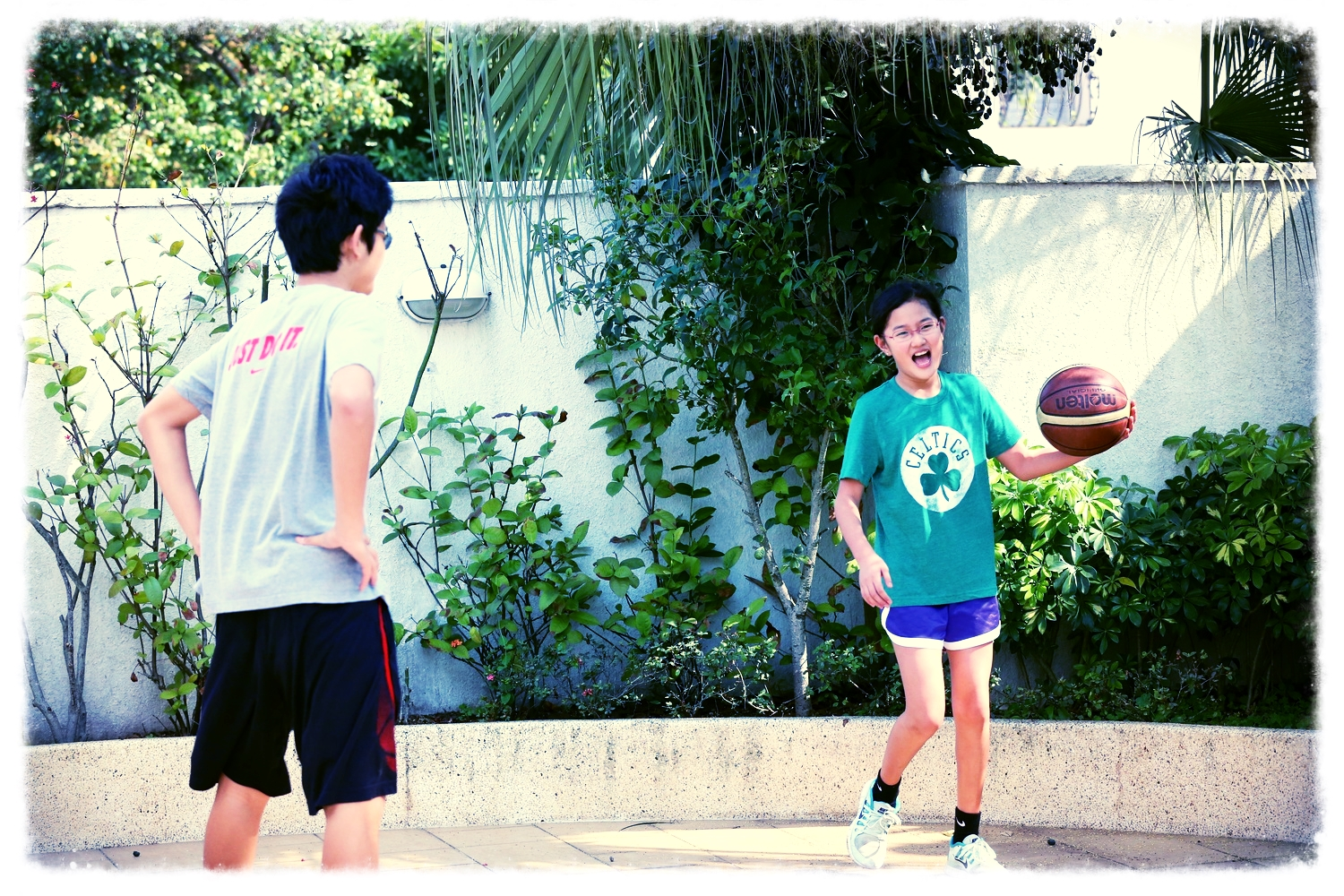 The quality of play on our court correlates positively to the effective use of P.E.T. elsewhere!