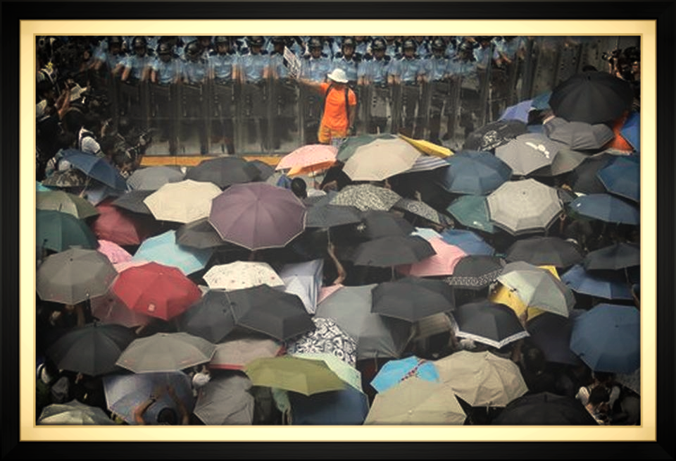 The Umbrella Movement has set a shining example of peaceful protest