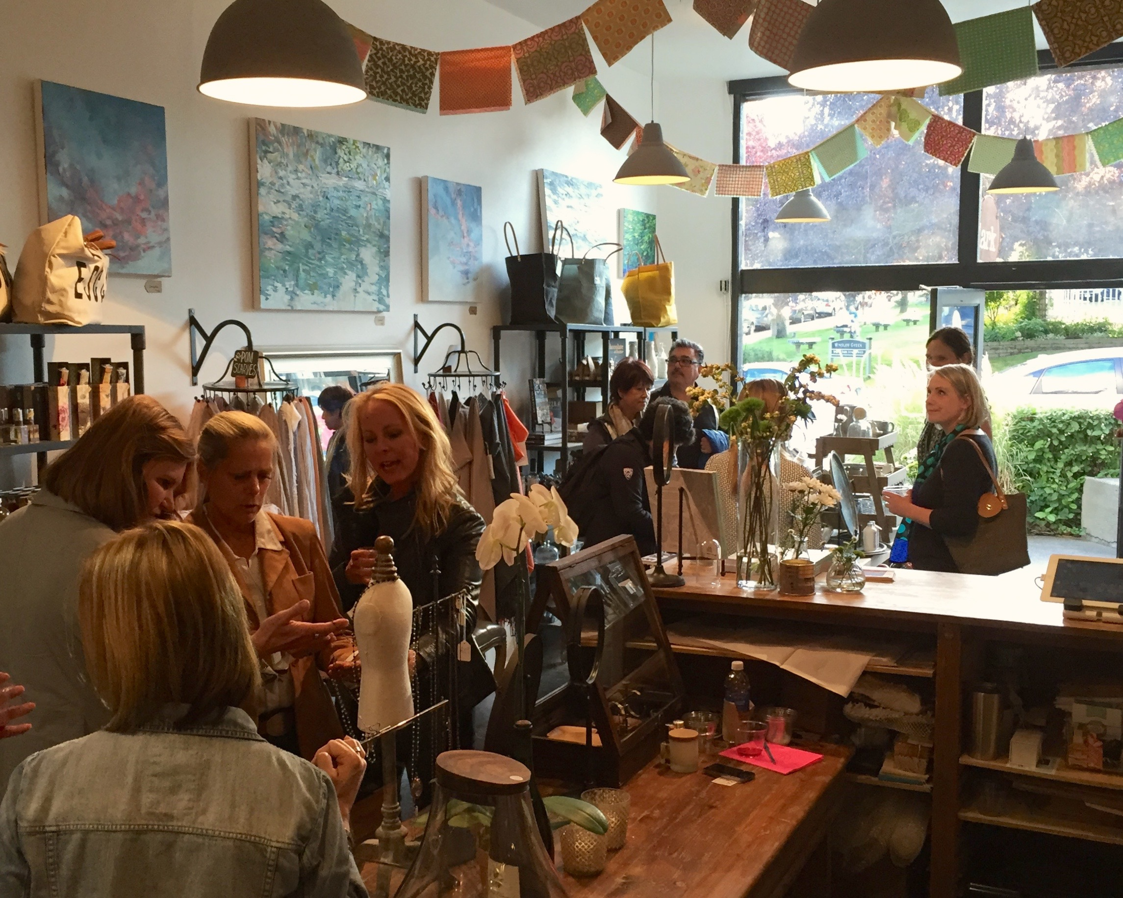 Bainbridge Island First Friday Art Walk at Lark, September 4, 2015