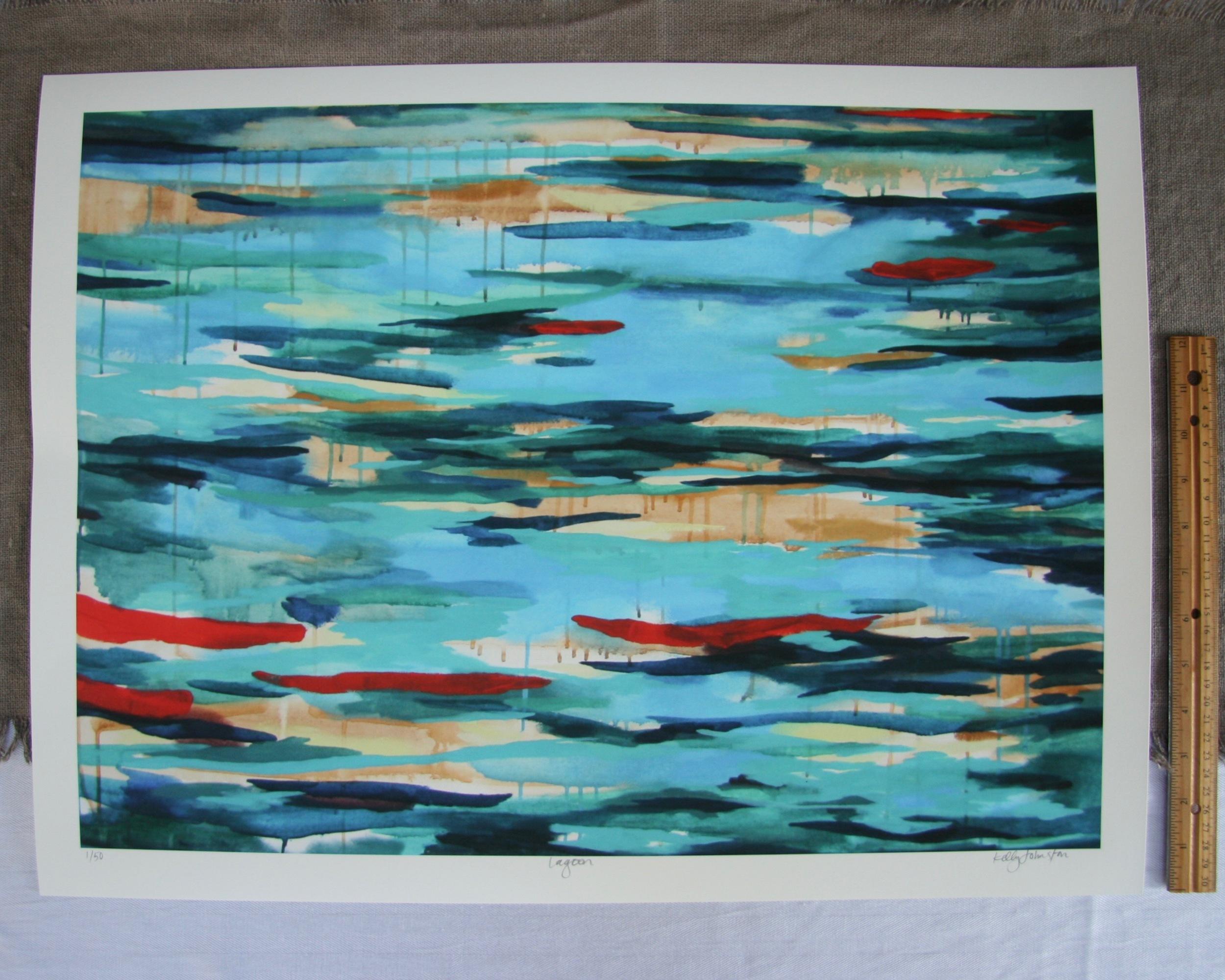 Lagoon Print