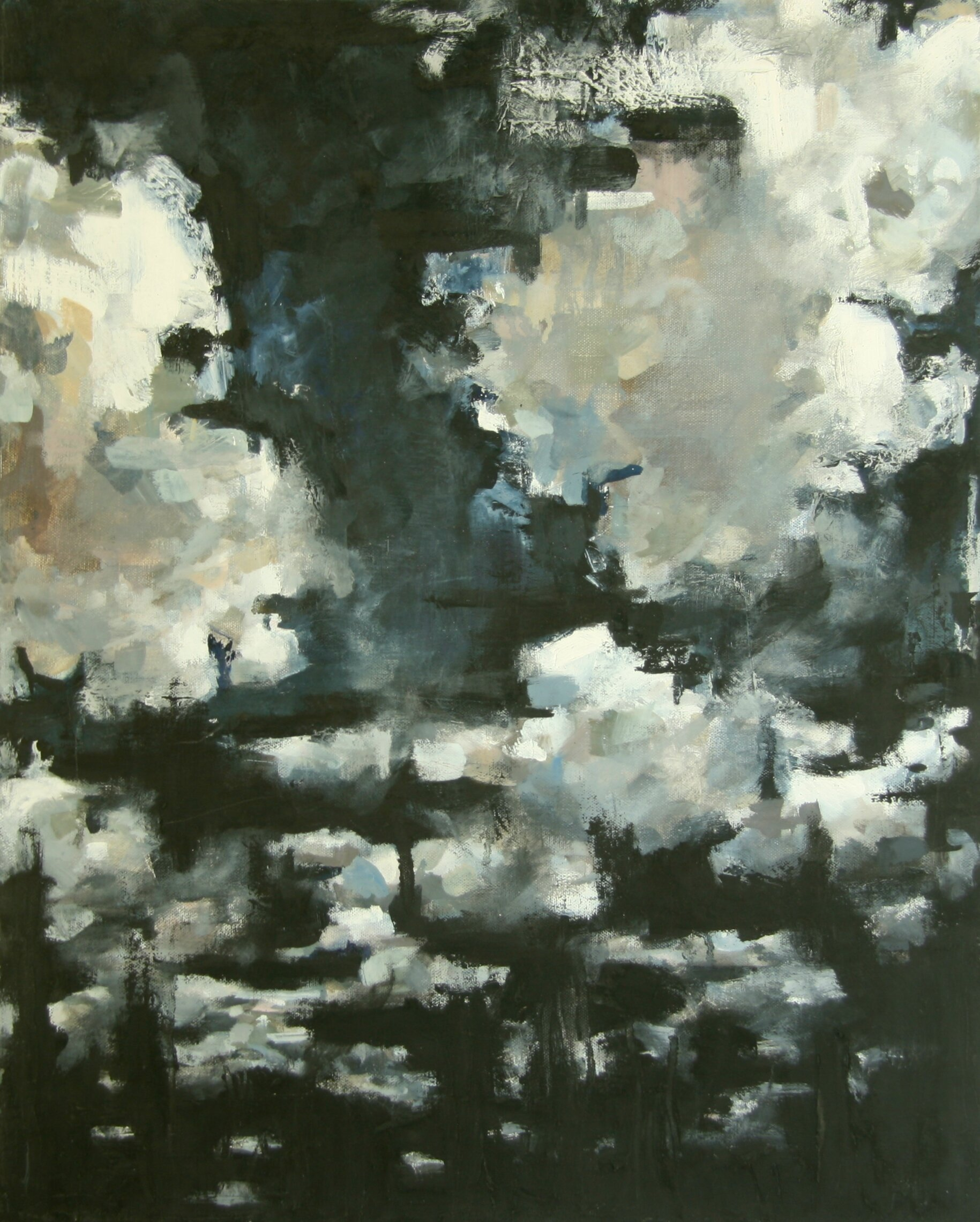 """'Night Clouds'  2000  18"""" x 24""""  oil on canvas  sold"""