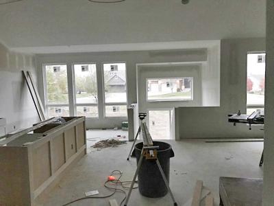 Interior View Window Installation
