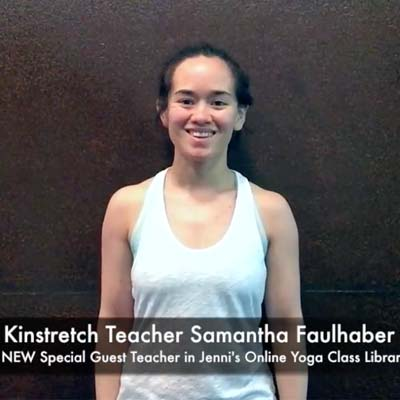 Meet Samantha and watch her brief introduction to the principles of Kinstretch.
