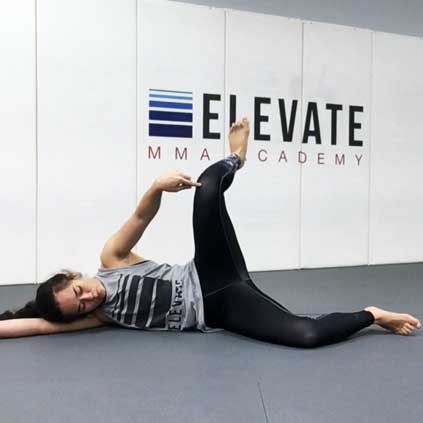 """Samantha teaches us strategies for increasing our mobility using """"end range strength training"""" - which basically means taking a joint toward its end range and working to strengthen it in that position."""