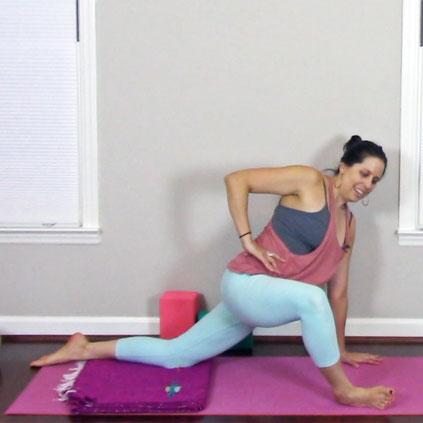 Gentle Hip-Opening Practice   36 min