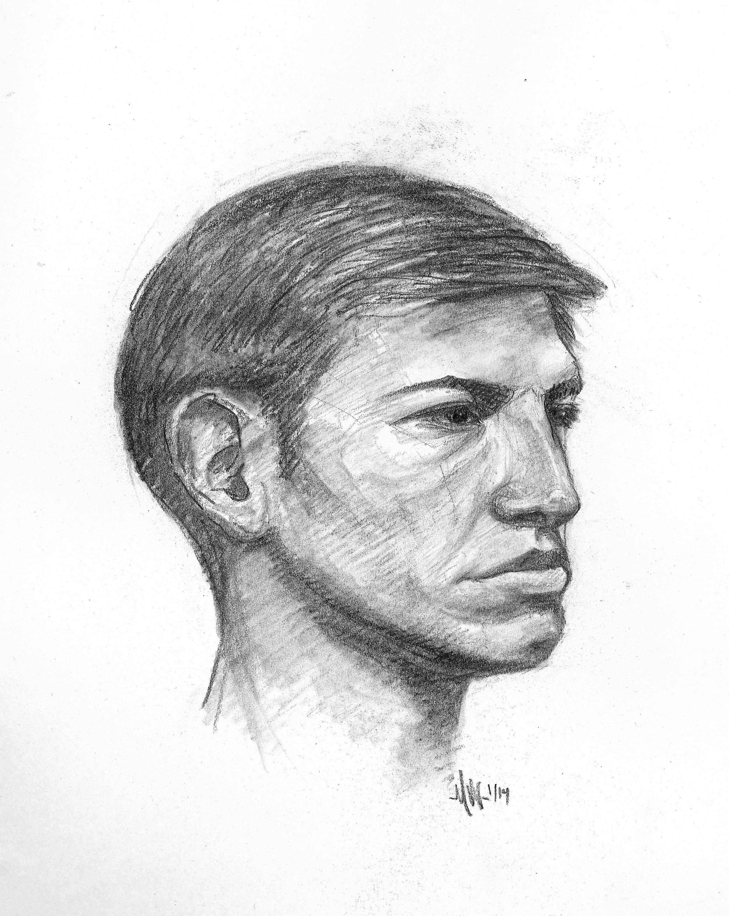 Young Man; portrait session
