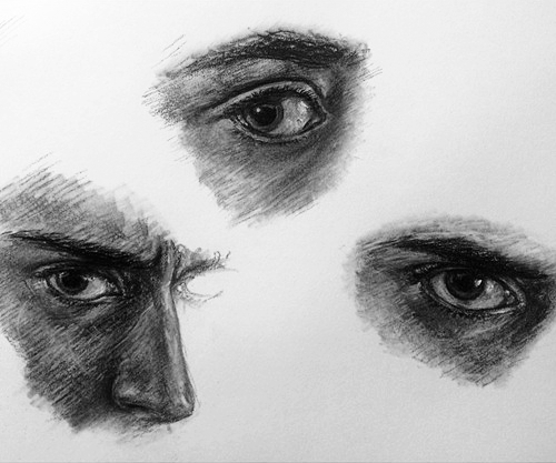 Mine Eyes, eye studies