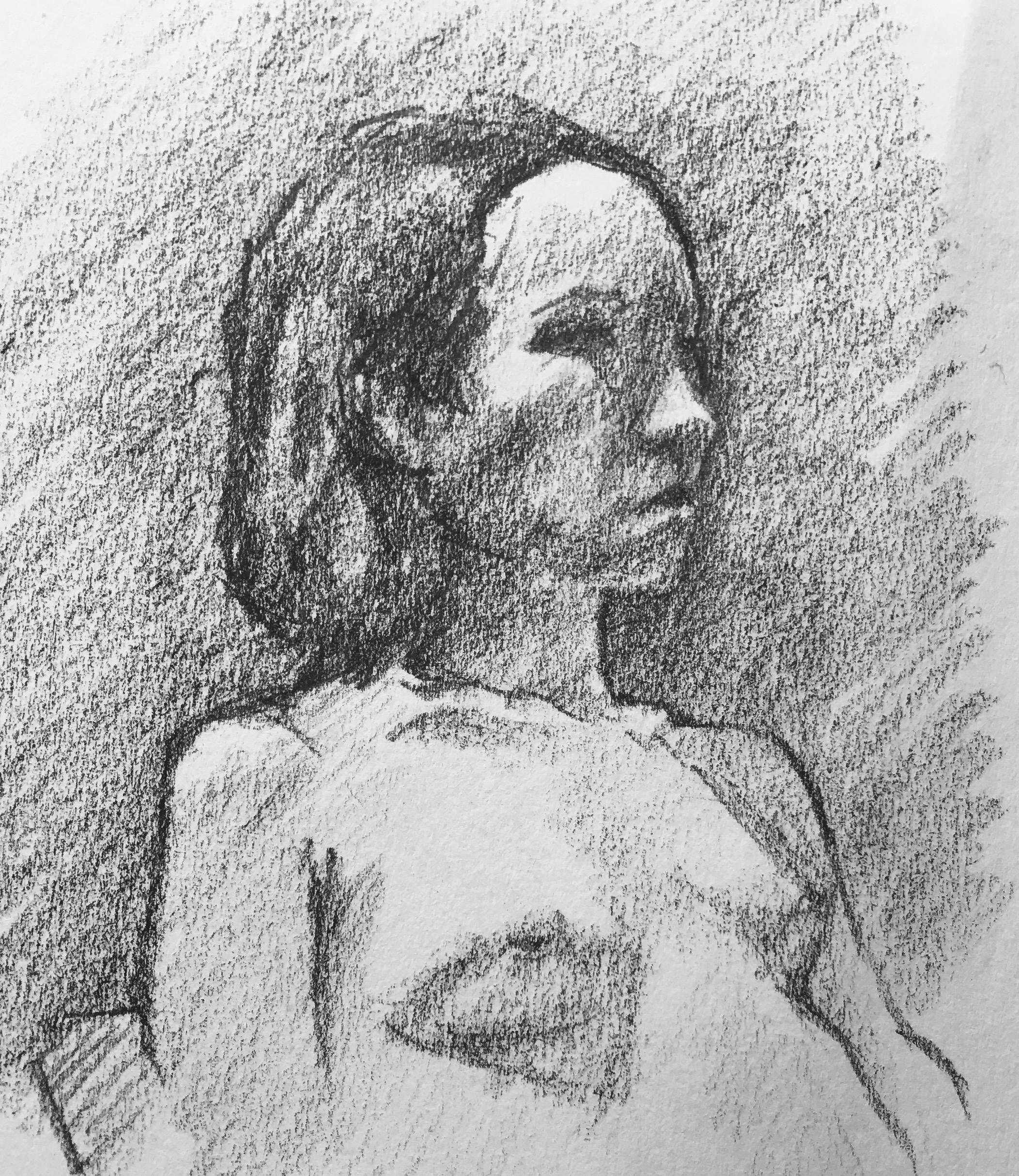 Bushwick Female Side, Nude