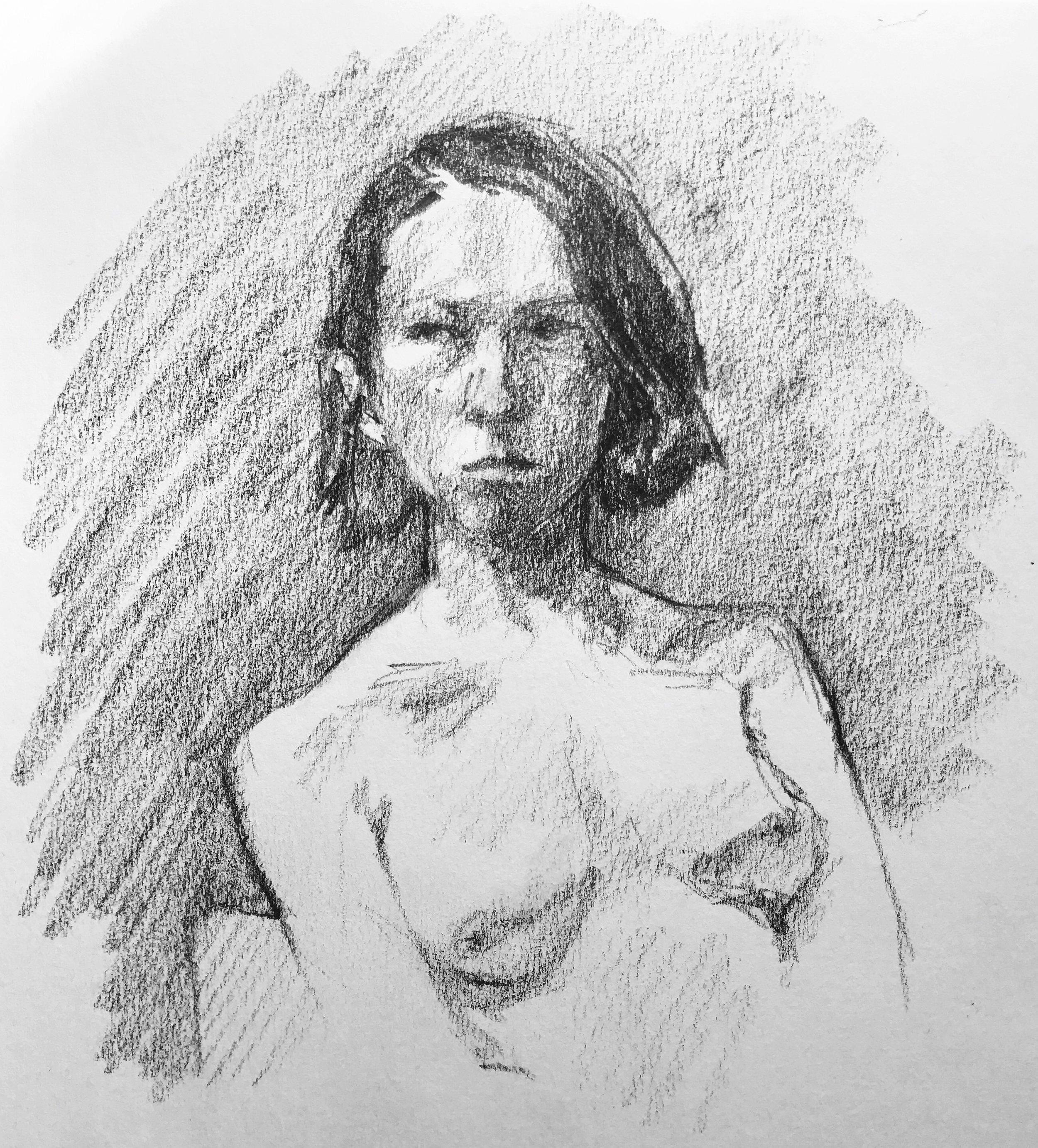Area Female, Nude