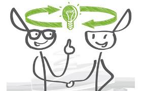 Ideen zur Innovation machen und auf sinn- und gewinnbringende Weise realisieren