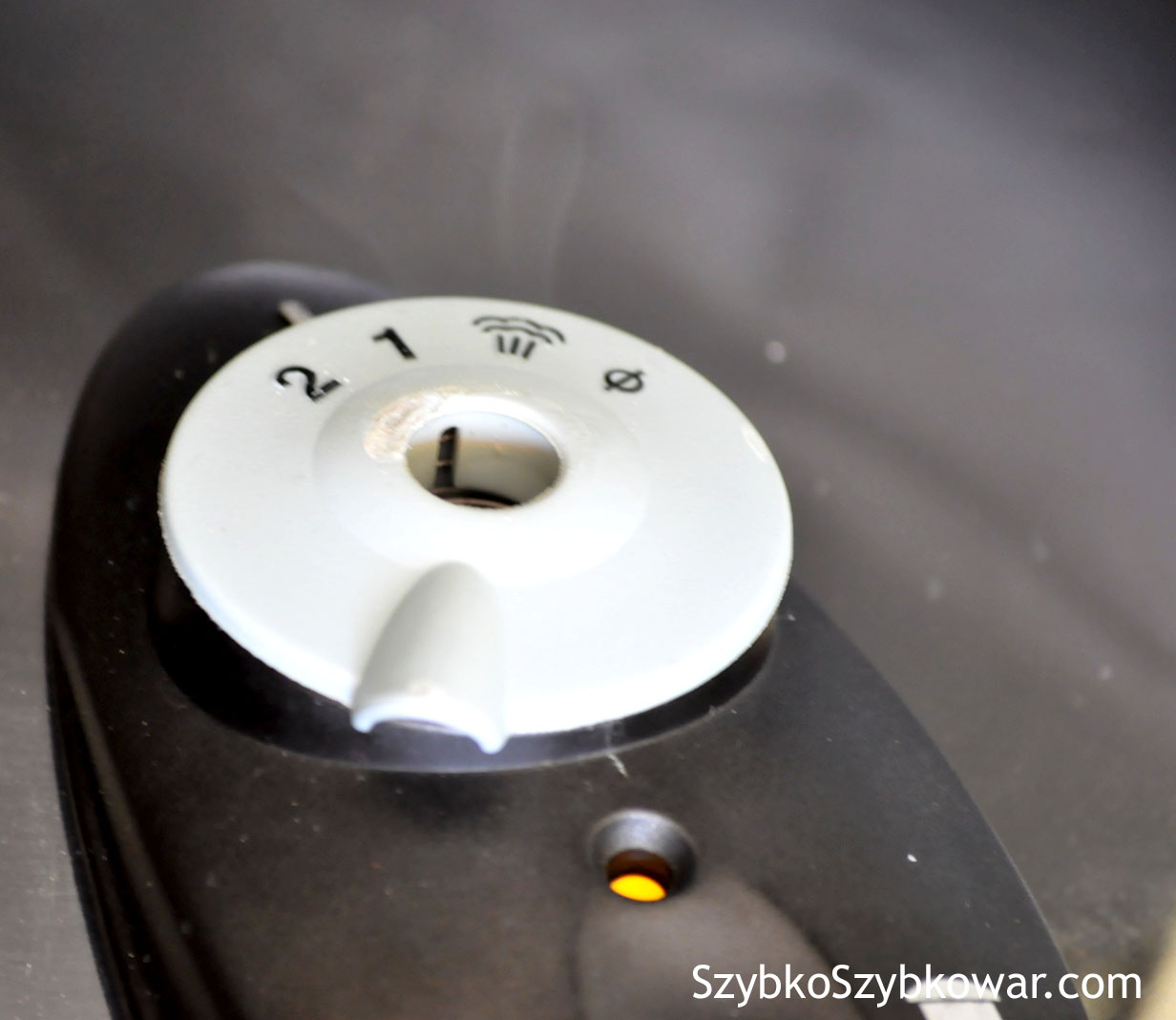 Naturalne opadanie ciśnienia. Zawór ciśnieniowy pozostaje w pozycji wybranego przez nas ciśnienia.