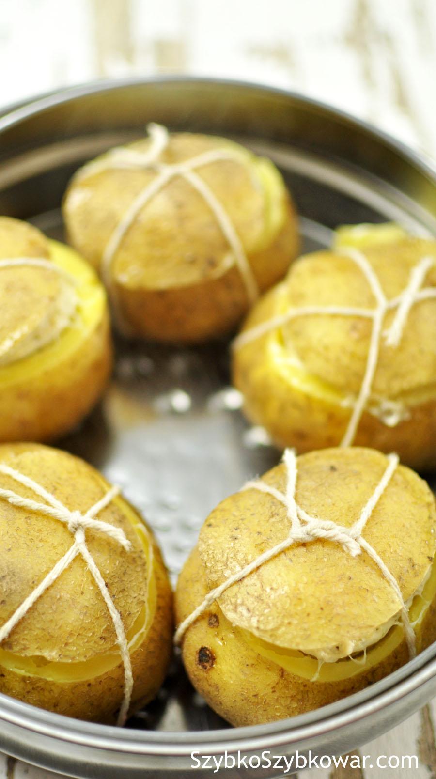 Ziemniaki po ugotowaniu.