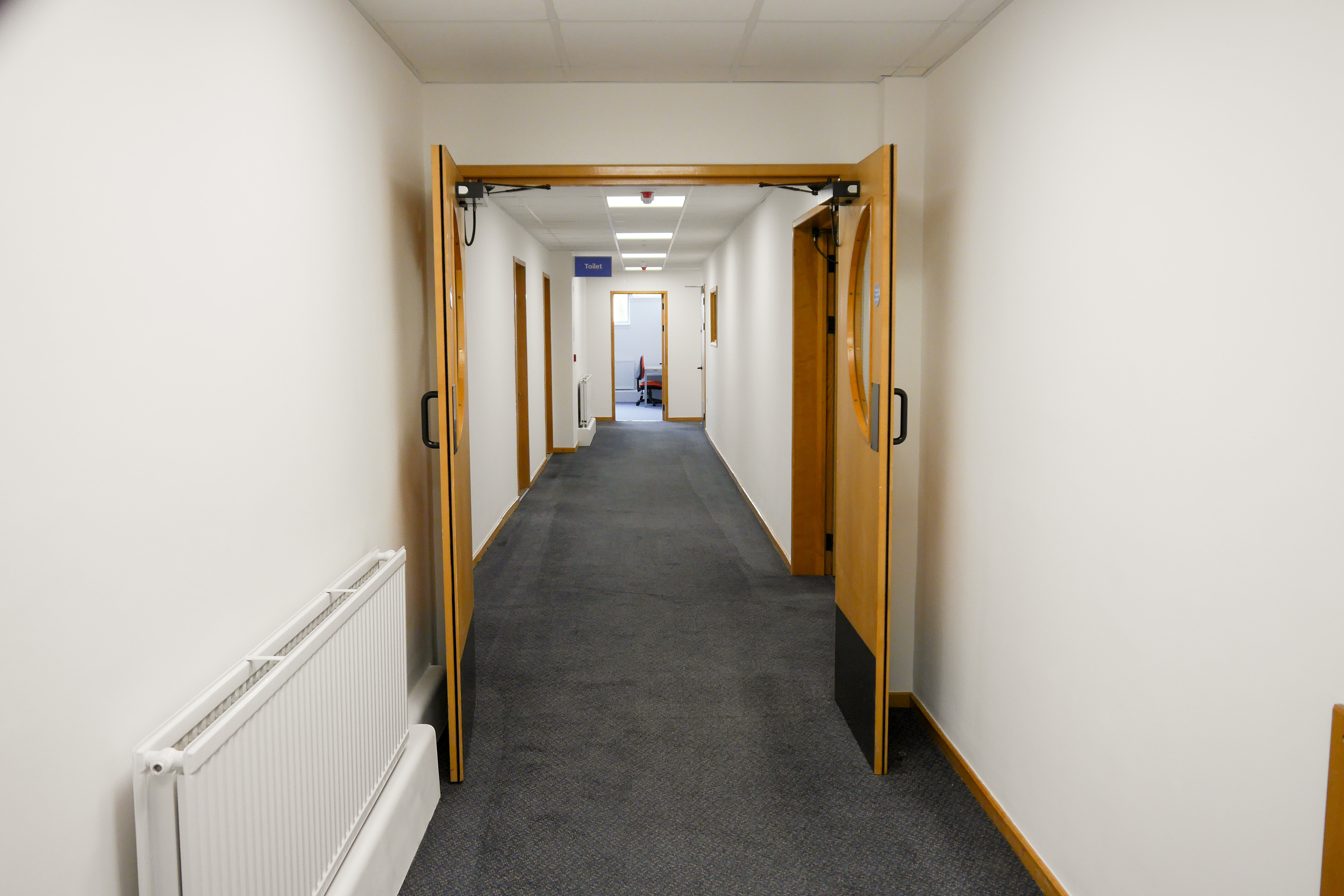 Decorating and Carpets - NHS office refurbishment in Portsmouth
