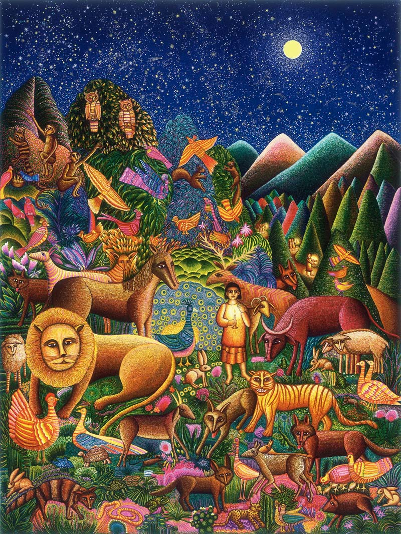 The Peaceable Kingdom by John August Swanson