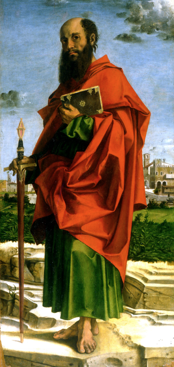 Saint Paul by Bartolomeo Montagna (1482)