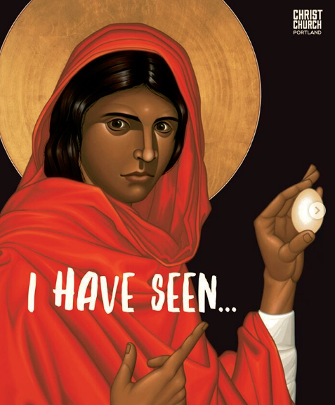 Image of Mary Magdalene are by Robert Lentz