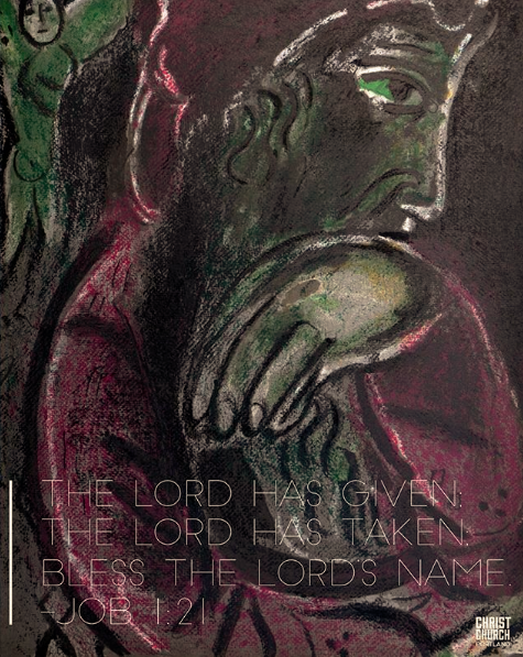 Image: Job's Despair by Marc Chagall