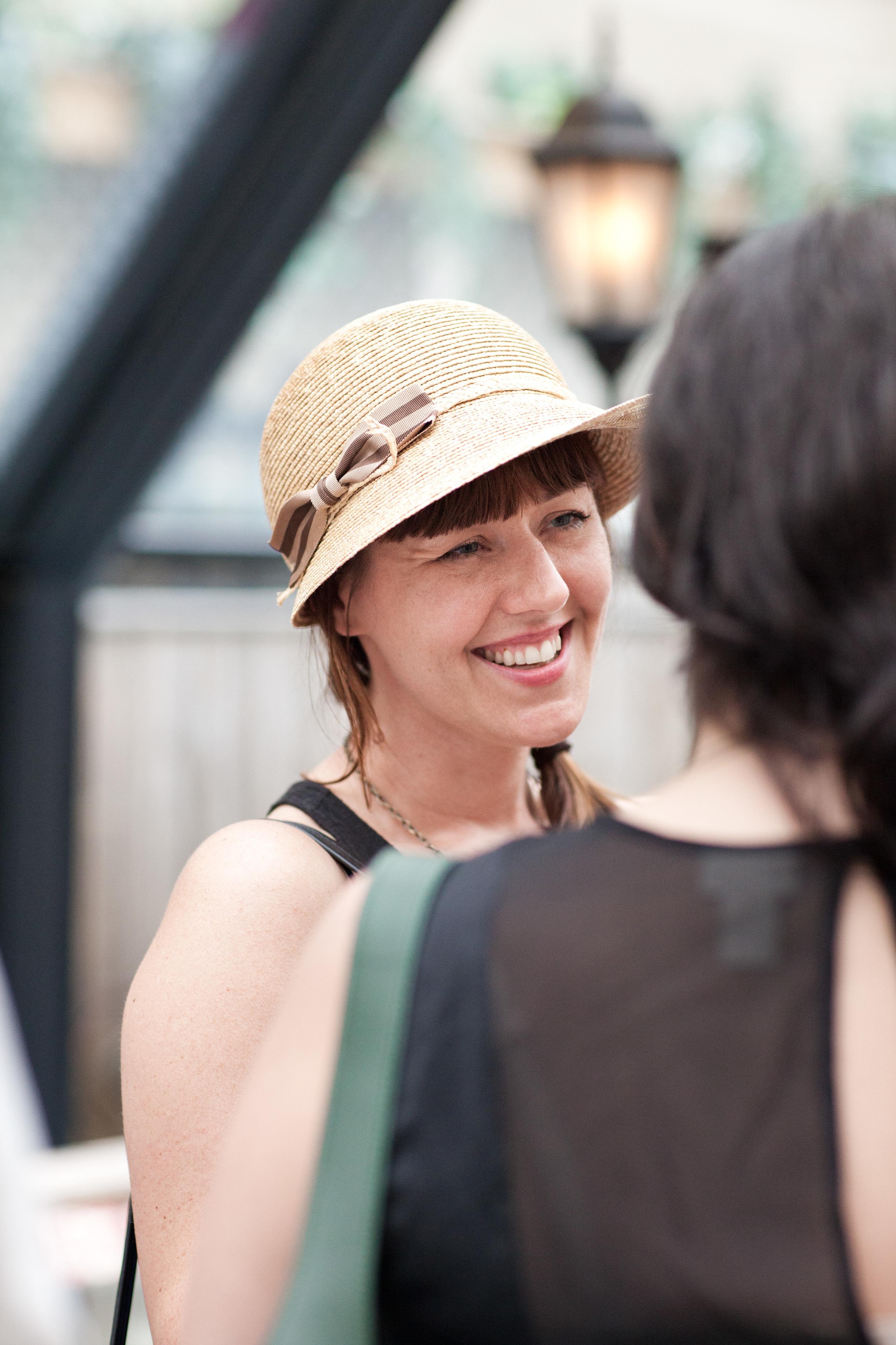 Love that hat Chellise !
