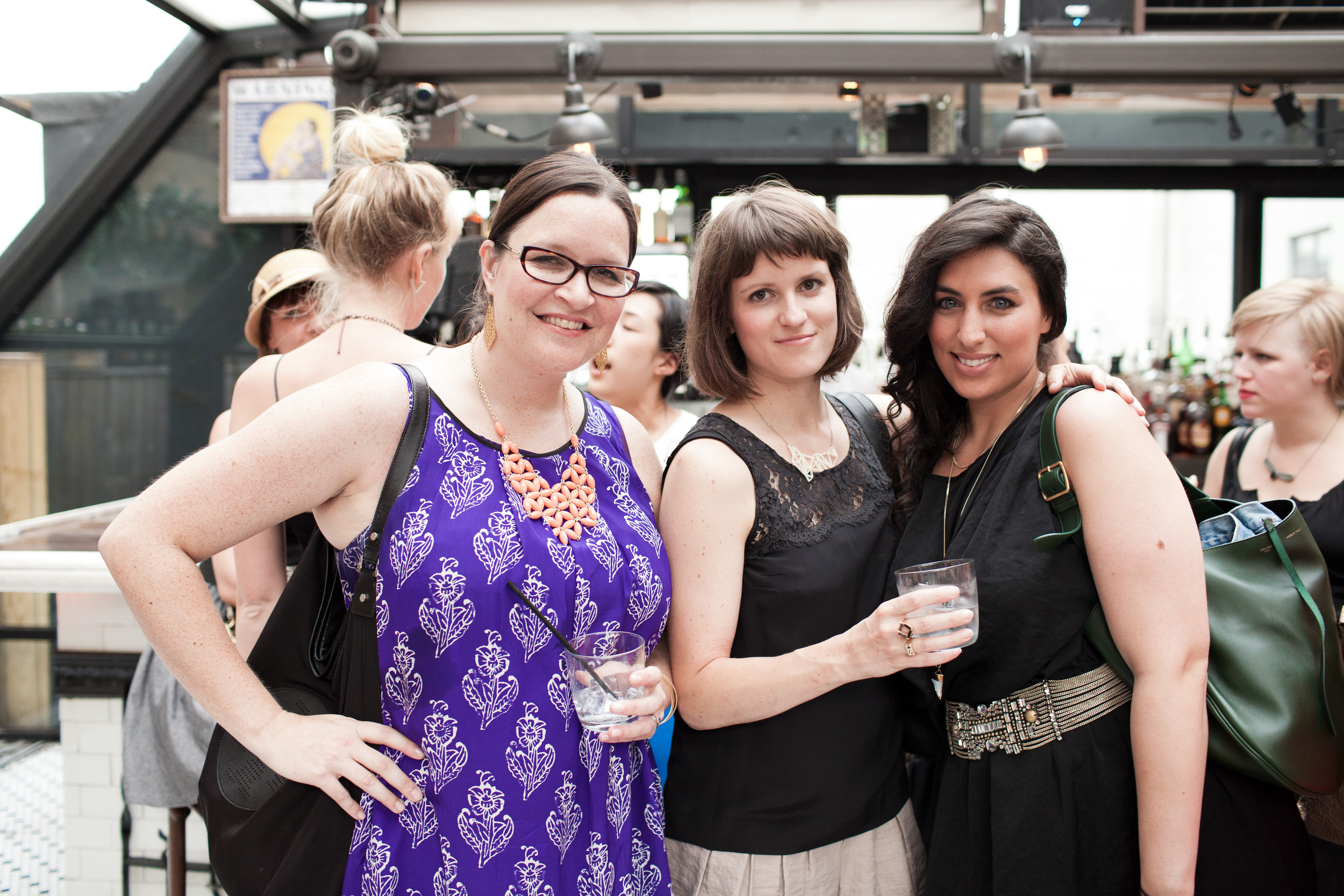 What a fab trio! Sara , Katie , and Roey !
