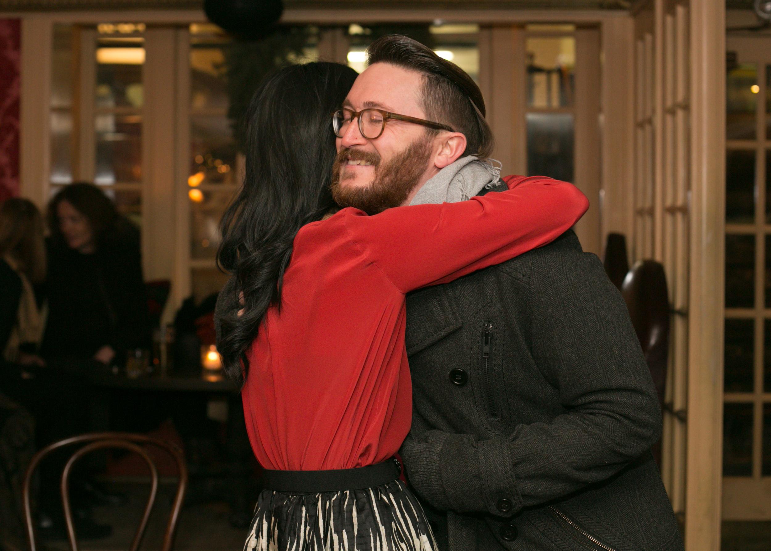 Big hugs, that's how we do!