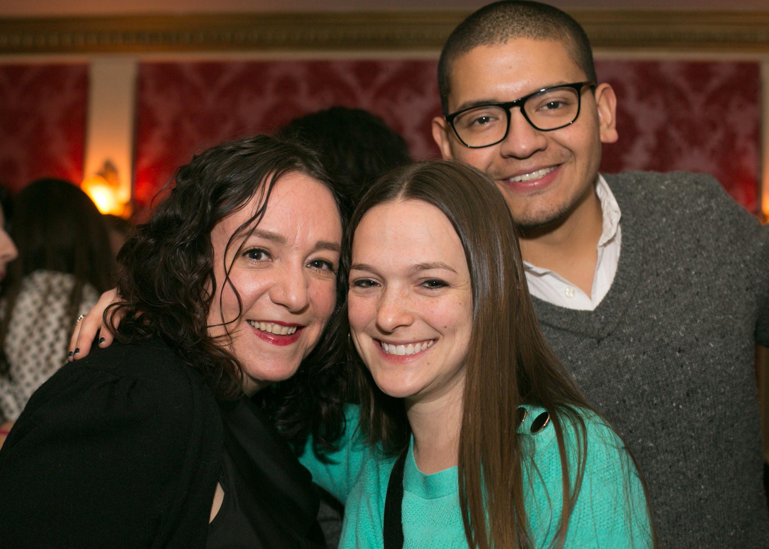 Eye spy Cindy of  Hiatus Travel , Bridget of  Violet & Verde  and  Allan Zepeda !