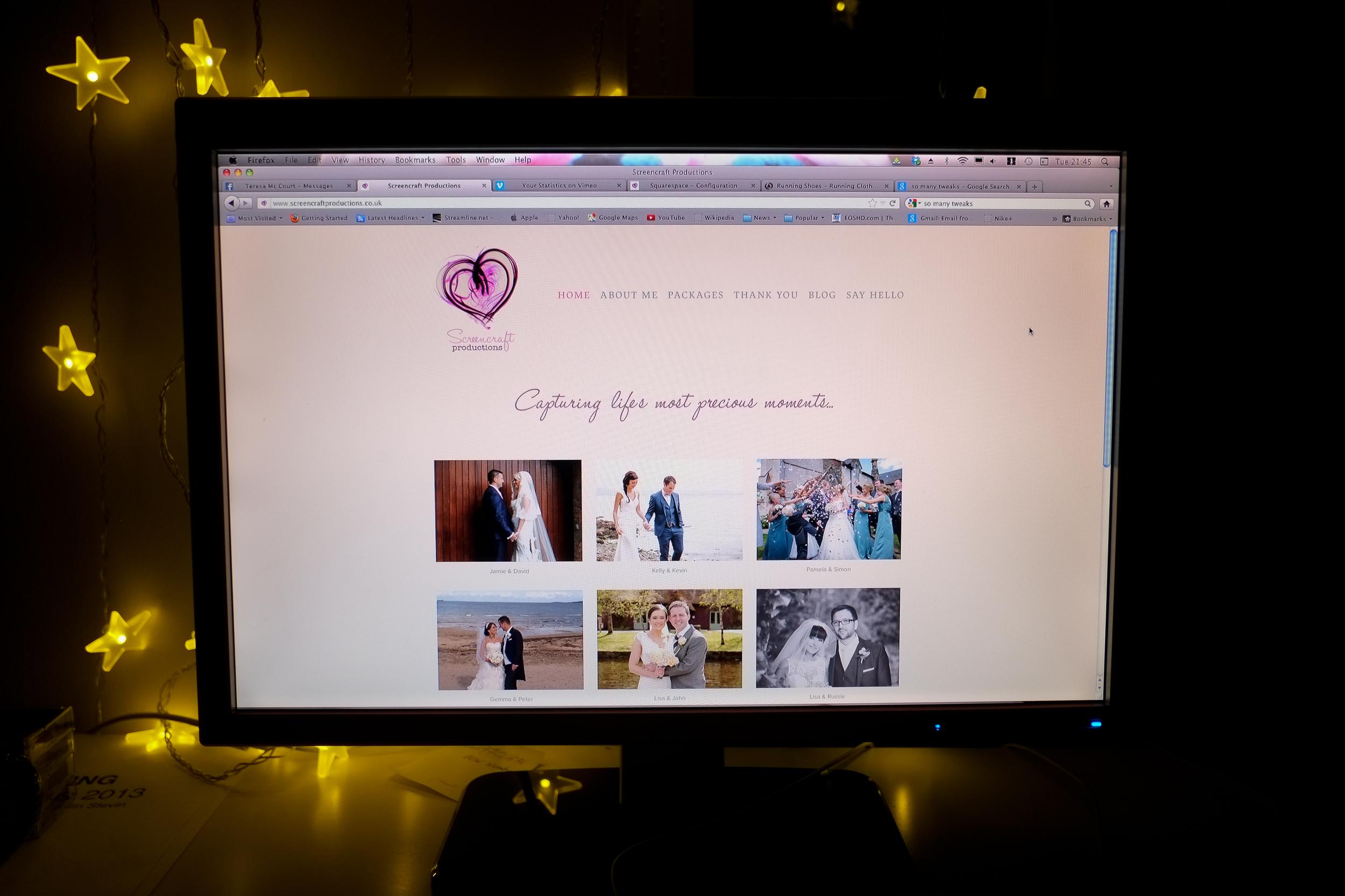 Sreencraft new Website
