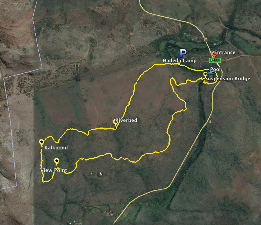 GPS Route available in our download section