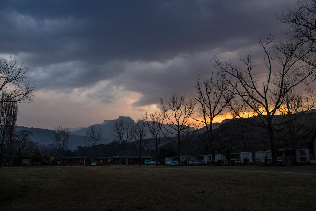 Day 1 – Dragons Peak Resort.