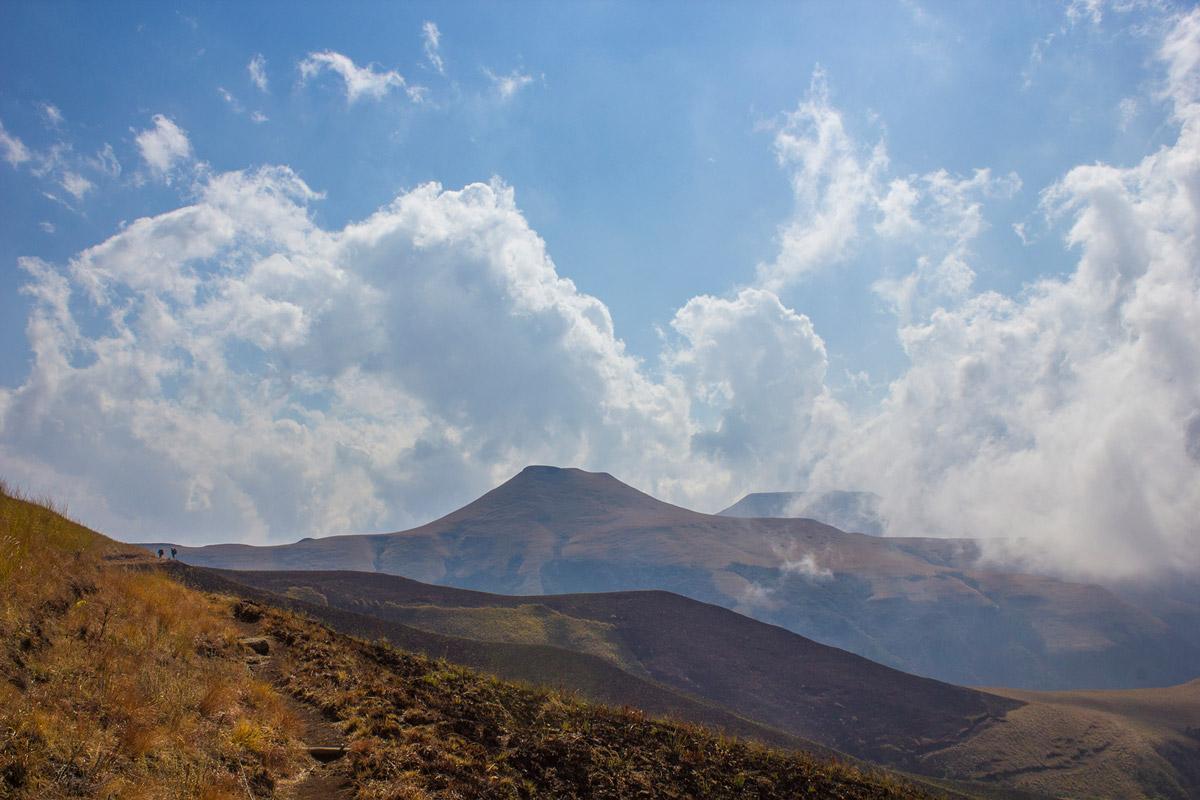 Day 1 – Blindman's Corner towards Hlatikhulu Nek.