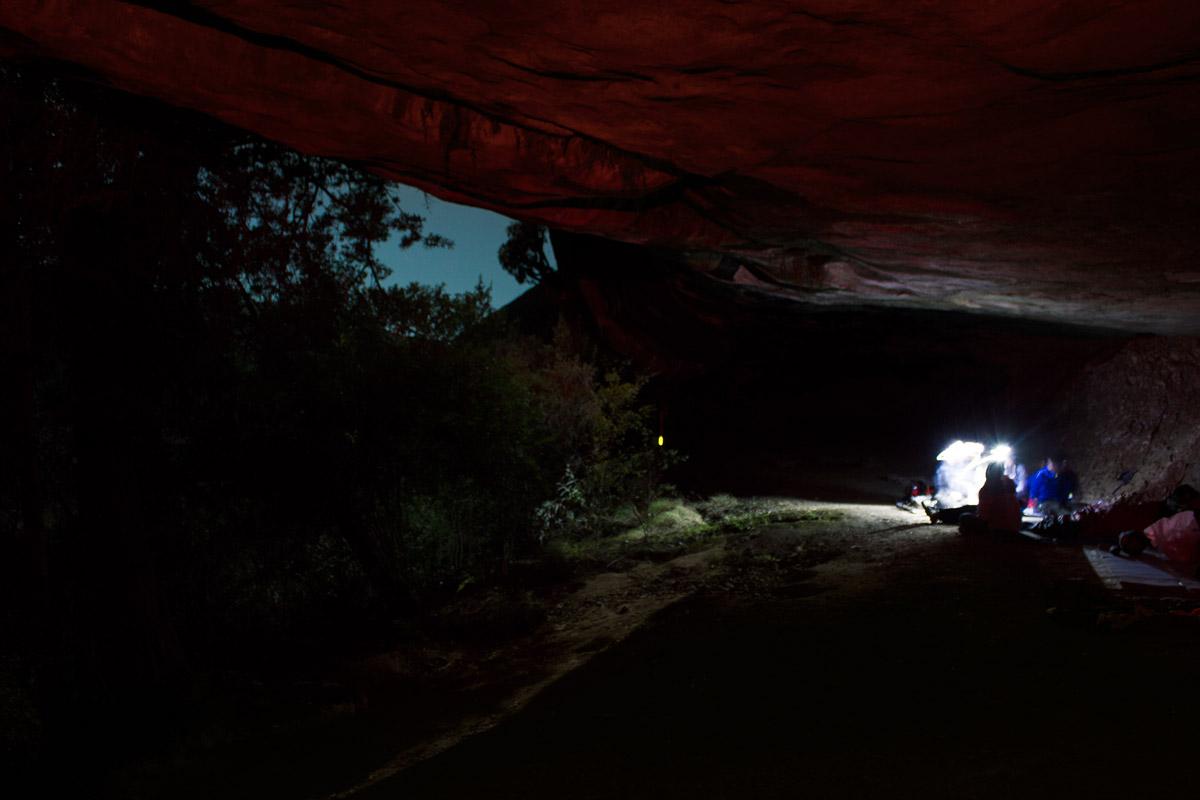 Day 1 – Overnight in Zulu Cave.