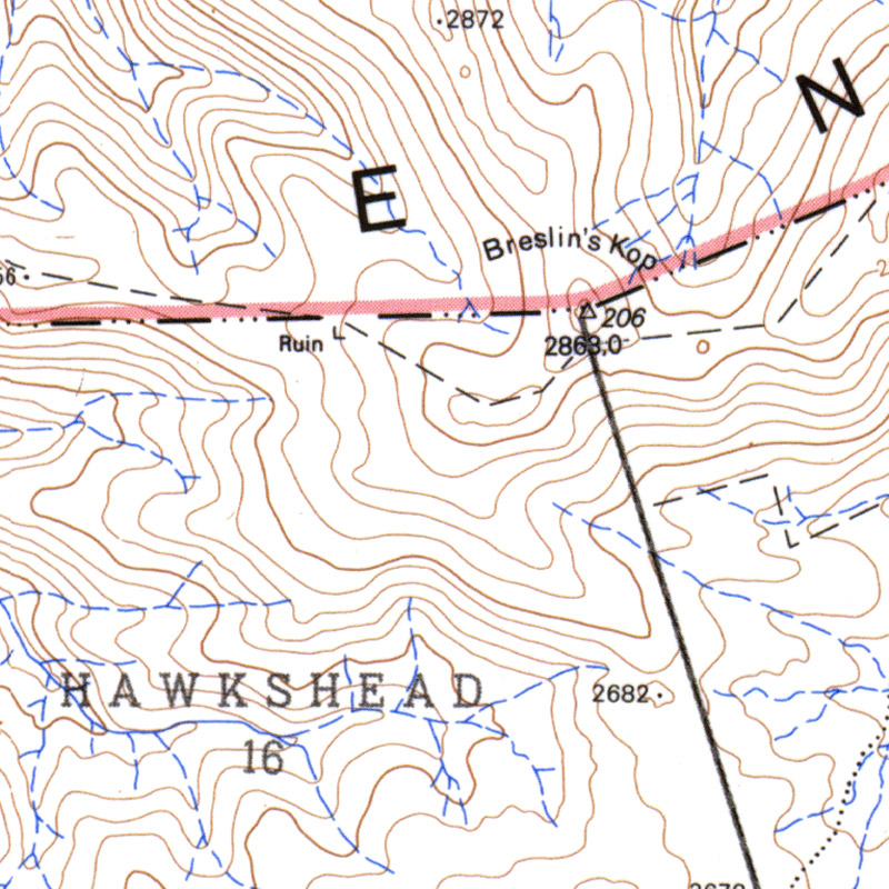Topographic Maps for South Africa — So Far Blog