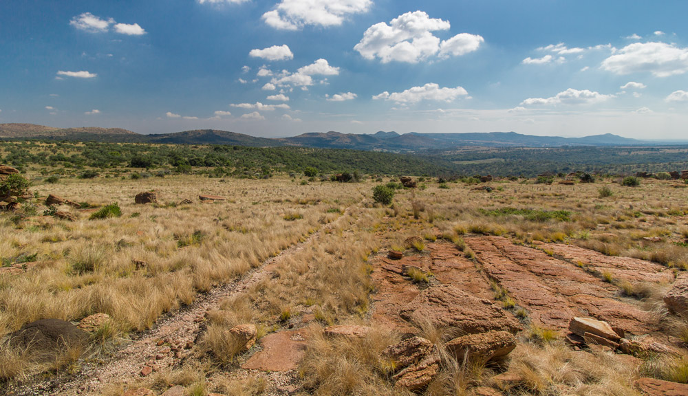 En route to Grootkloof –   Magaliesberg.
