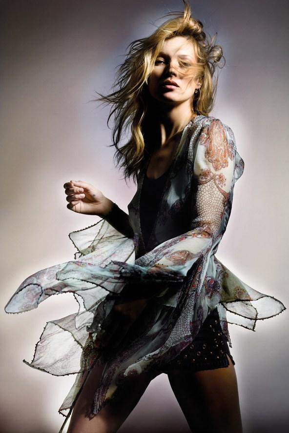 English Vogue Kate Moss