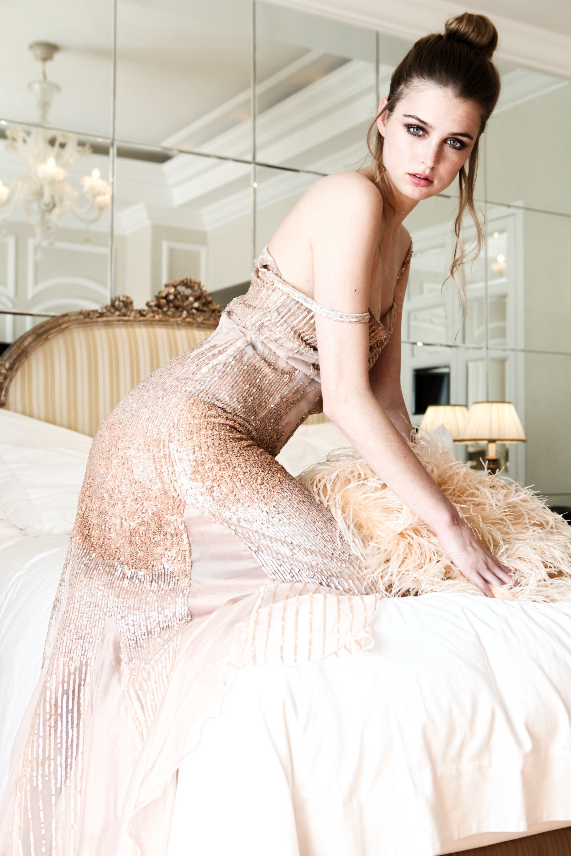 Photo Credits Fashion: Mara Desypris / Stylist: Michael Pandos / Make up: Dimitris Dimitroulis / Hair: Aldo Memetai