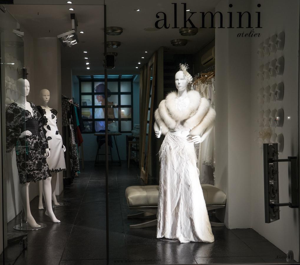 Alkmini atelier, haute couture creations, Thessaloniki, Greece