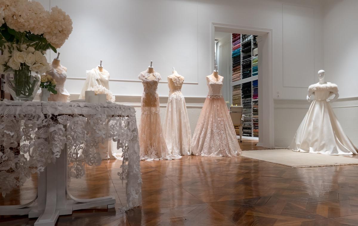 Alkmini atelier, bridal room