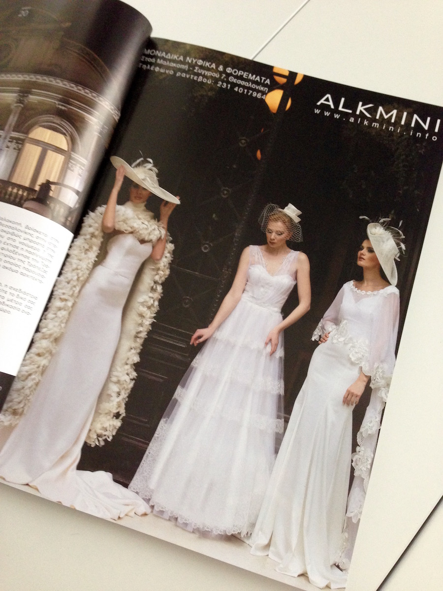 ALKMINI bridal at My Moment magazine