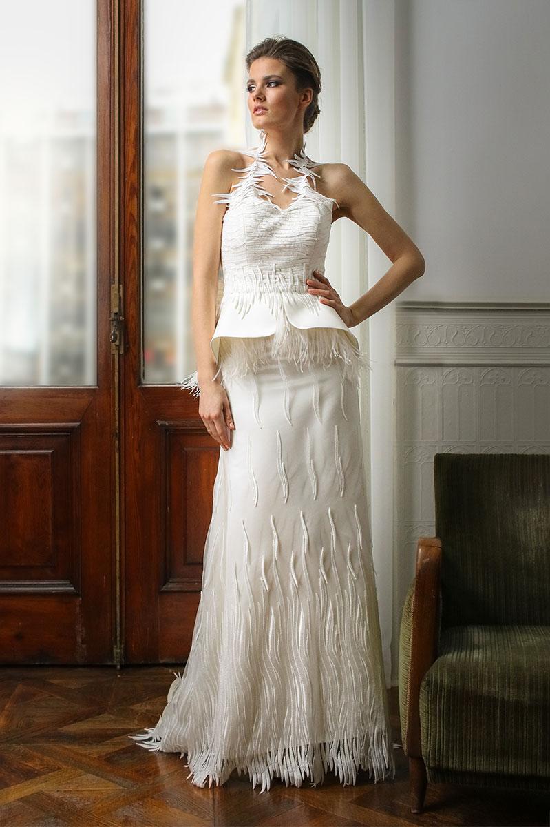 Μοναδικά νυφικά φορέματα από την σχεδιάστρια ALKMINI
