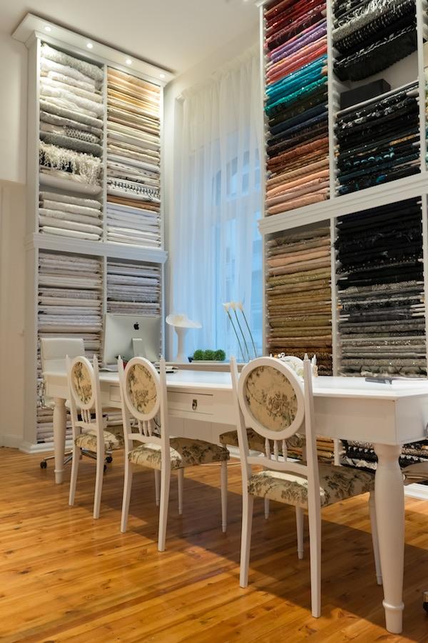Fabrics in Atelier ALKMINI