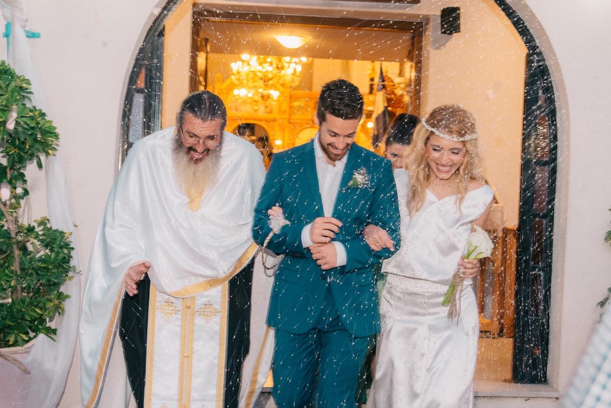 Greek Wedding (Real Brides by ALKMINI)