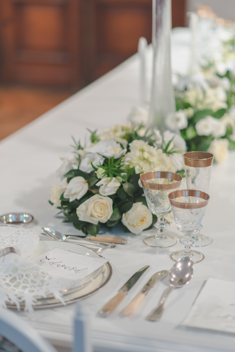 Table setting: Corda Antiques, Decoration: Faidra Liakou events