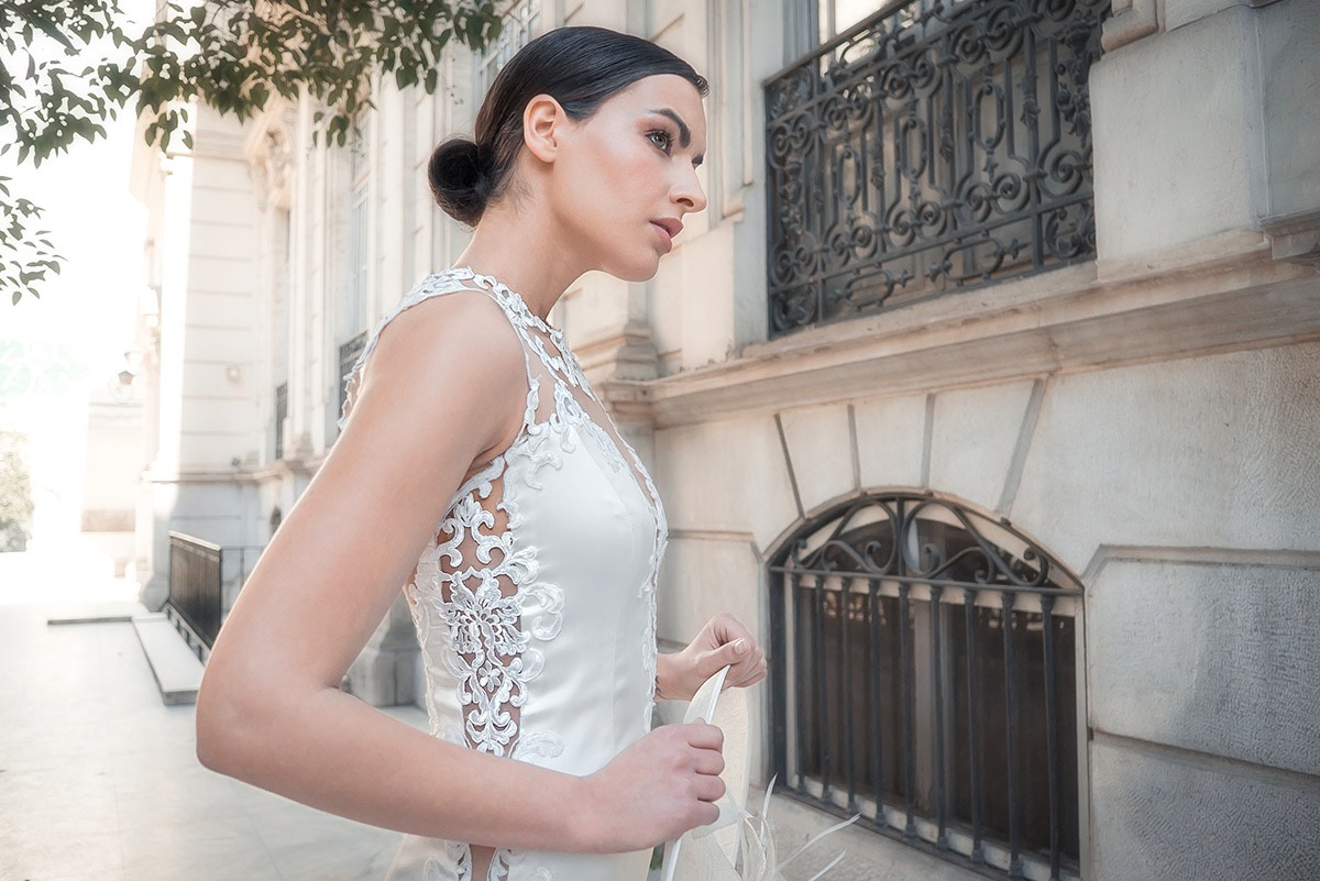 Bridal lace dress by ALKMINI