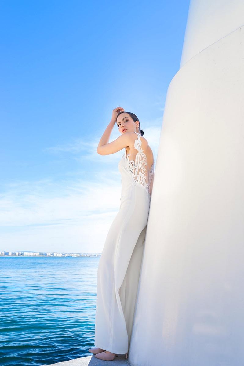 Νυφική ολόσωμη φόρμα ALKMINI