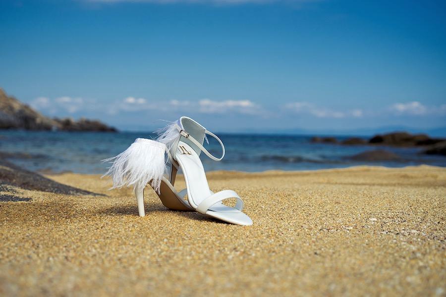 Νυφικά Παπούτσια Lou από το νυφικό editorial ALKMINI