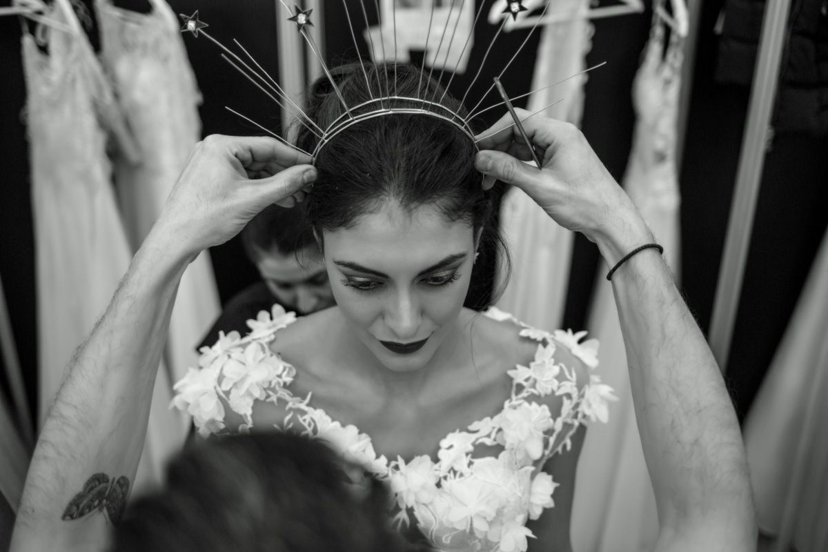Bridal Show Backstage
