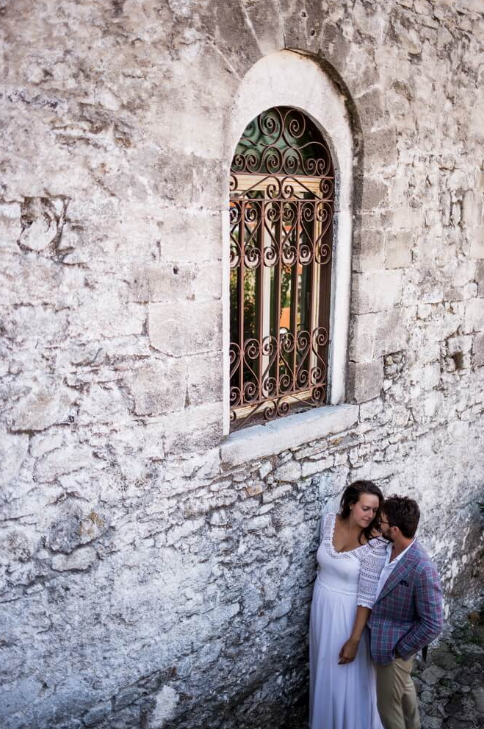 Wedding in Samothraki Greece