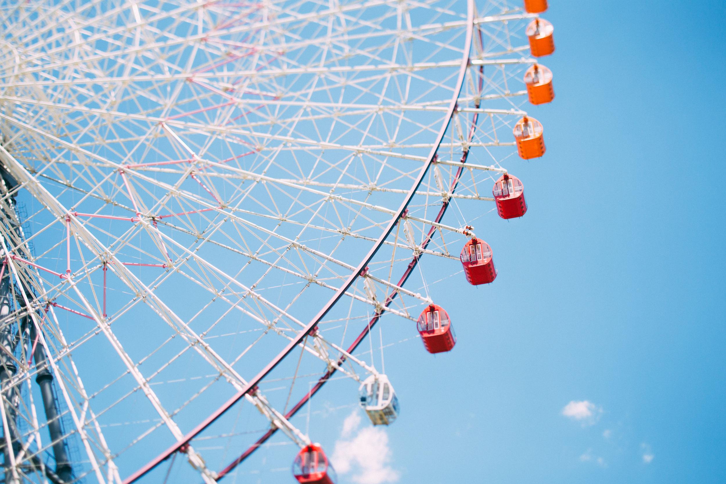 Japan, DC Photography, Dan Chern Photography, Bay Area Photography, Wedding Photography, Travel, Travel Photography, Tokyo, Kyoto, Odaiba, Osaka, Ferris Wheel